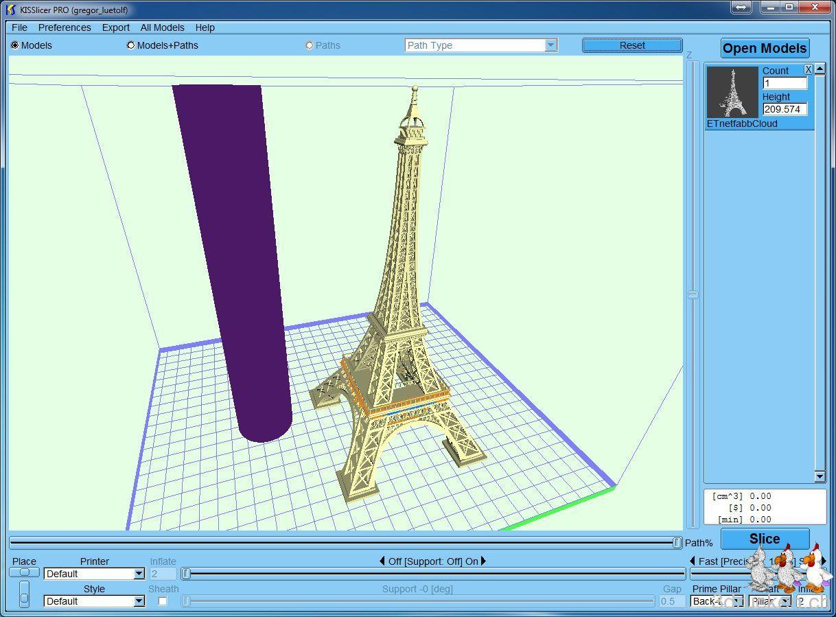 Pimp my Eiffeltower - 3drucken