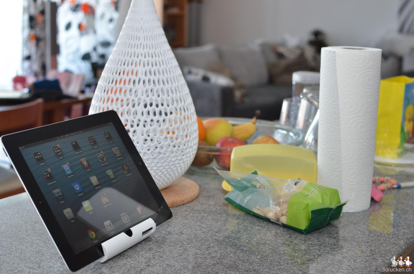 iPad kitchen stand by @Dizingof