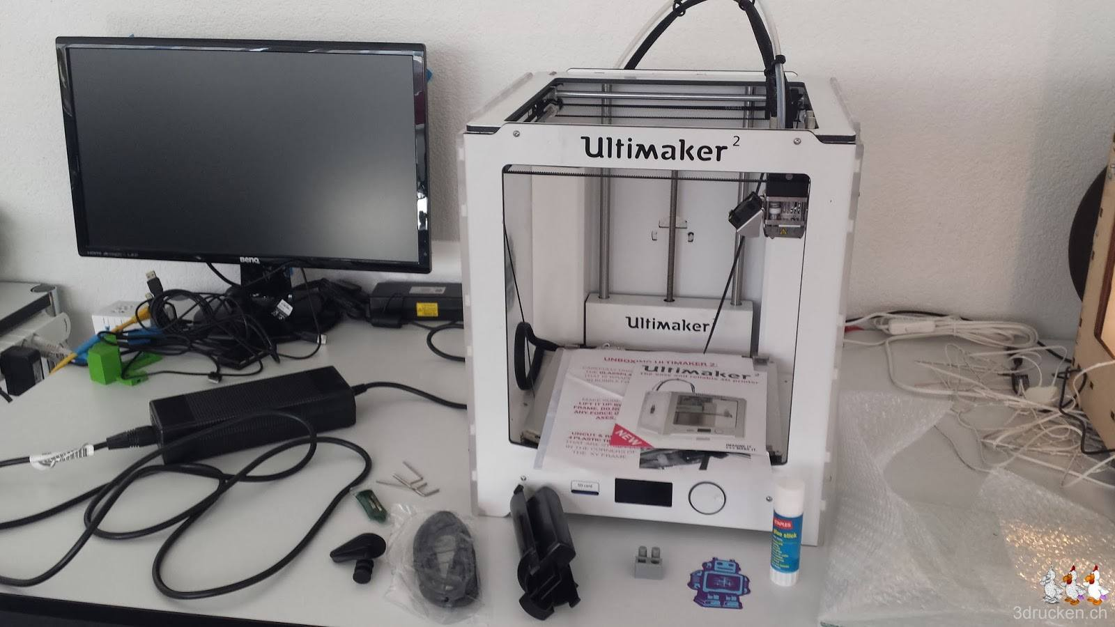 Ultimaker 2 unboxing