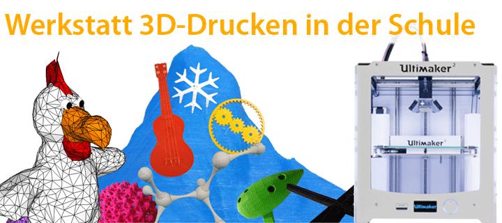 Webebanner für unsere Werkstatt 3D-Drucken in der Schule