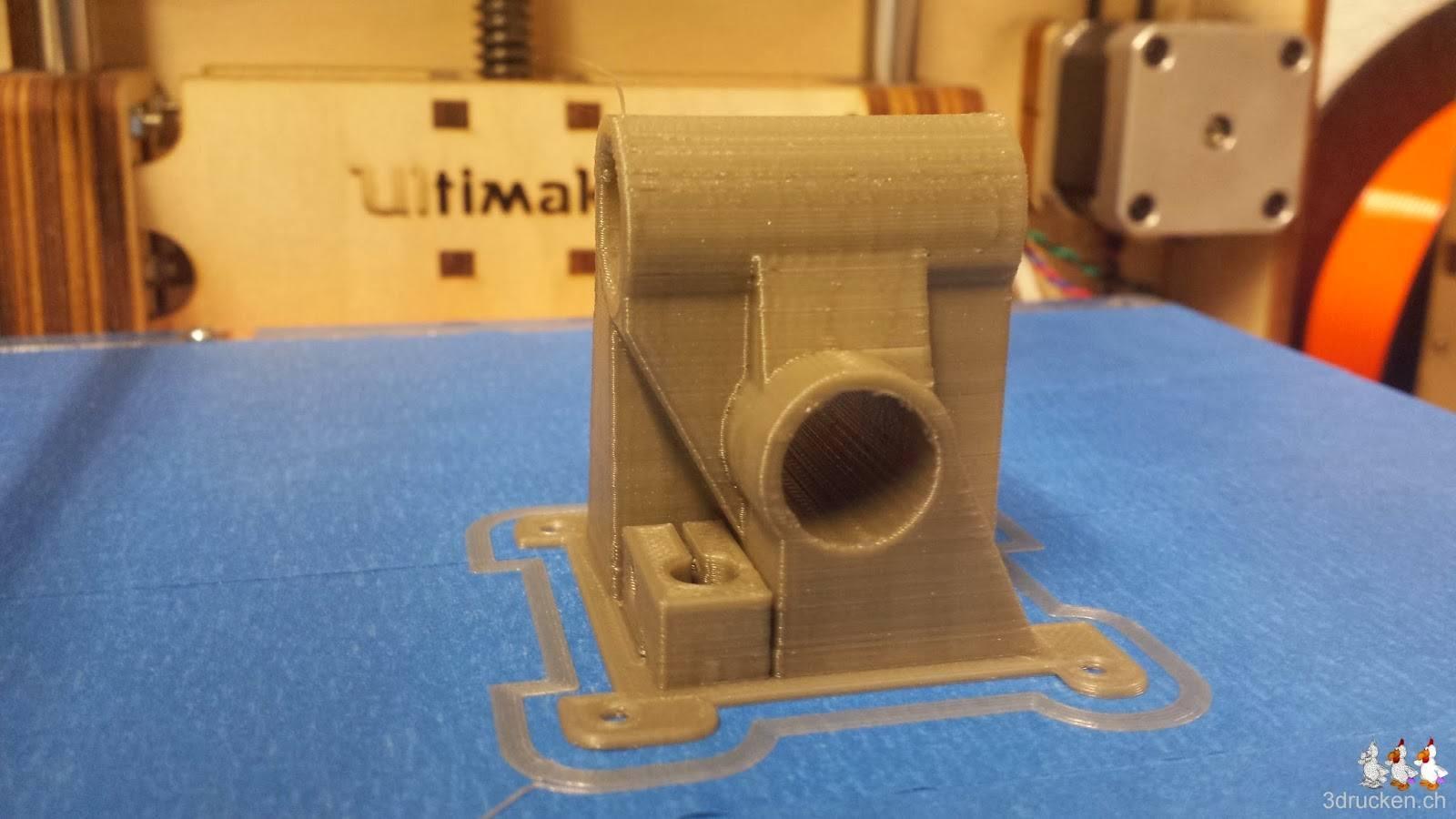 Foto der nächsten Version des Ultimaker 2 Druckkopfs für die Ultimaker Original Düse