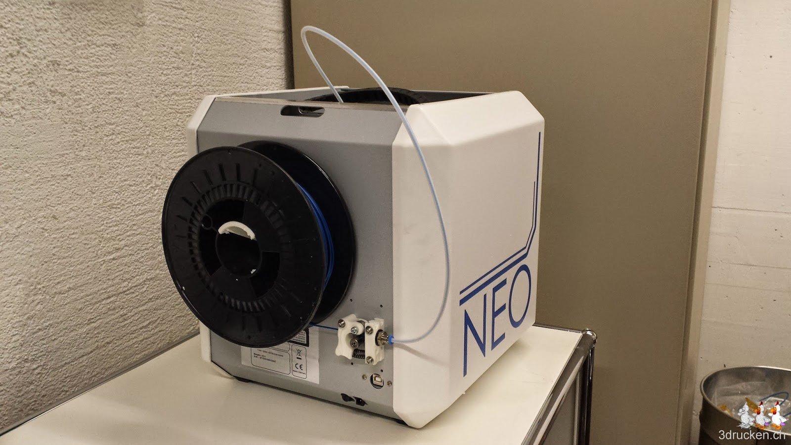 Foto von der Rückseite des NEO