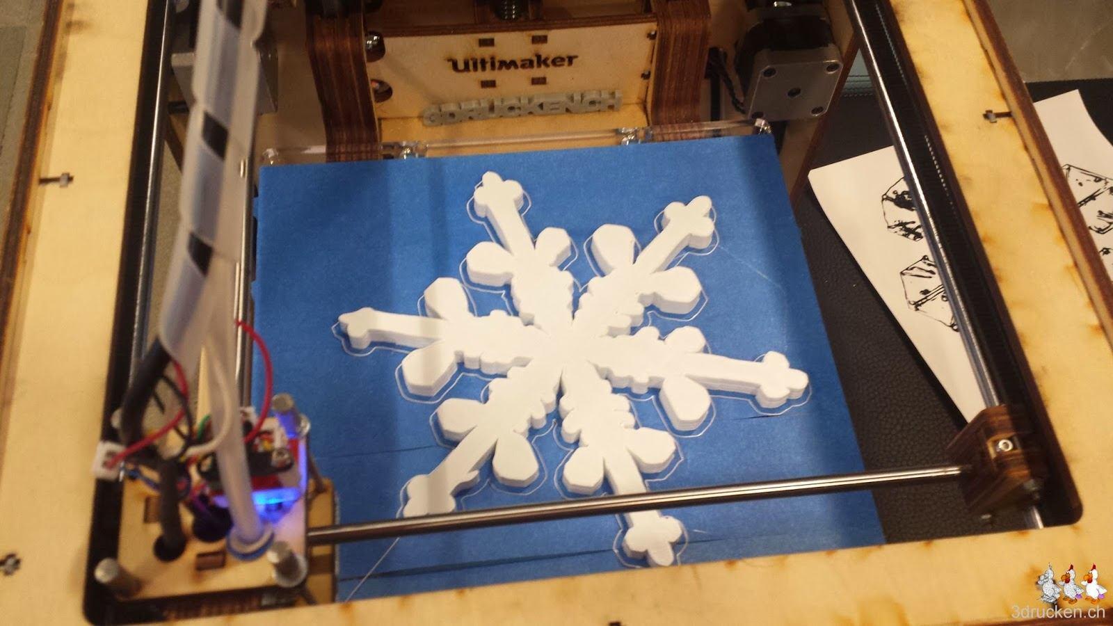 3D gedruckter Dendritischer Stern