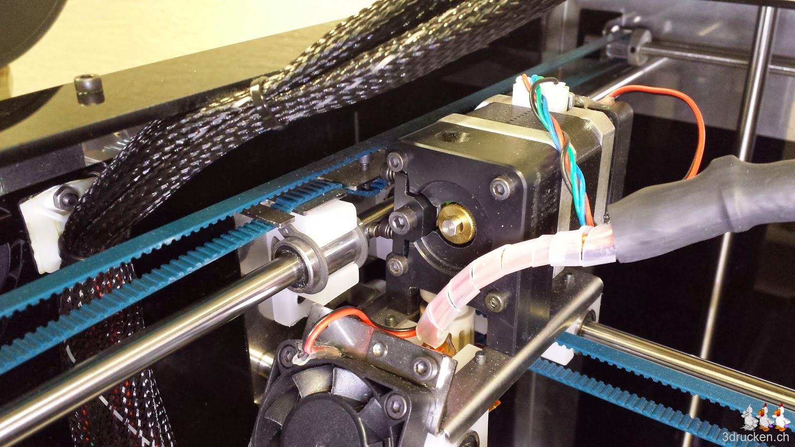 Foto des linken Riemens der Y-Achse am Sharebot Next Generation