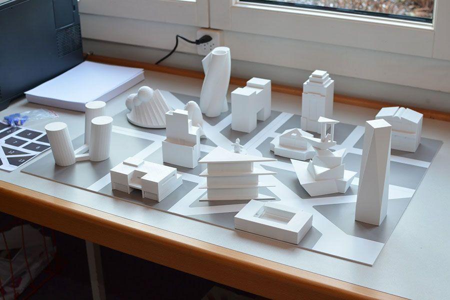 GüggelTown, die Modellstadt aus dem 3D-Drucker