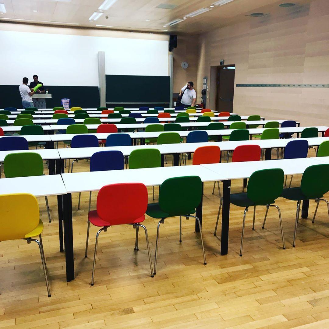 Der selbe Raum, am Samstag nach den MAKER DAYS. (Foto: doit_europe via Instagram)