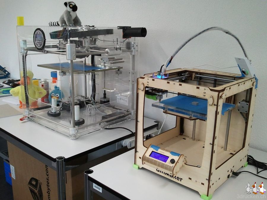Ultimaker back in business