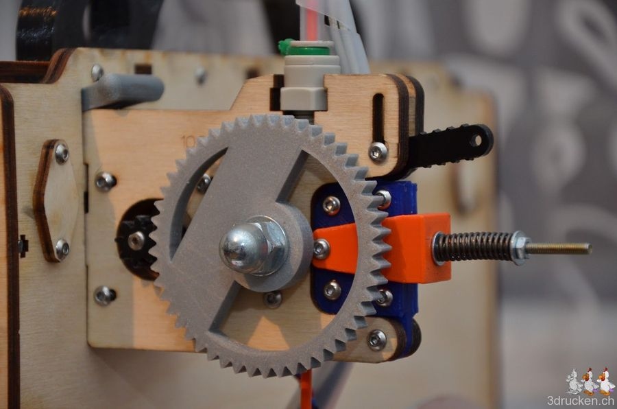 Berthos Ultimaker Extruder Drive Upgrade in Betrieb