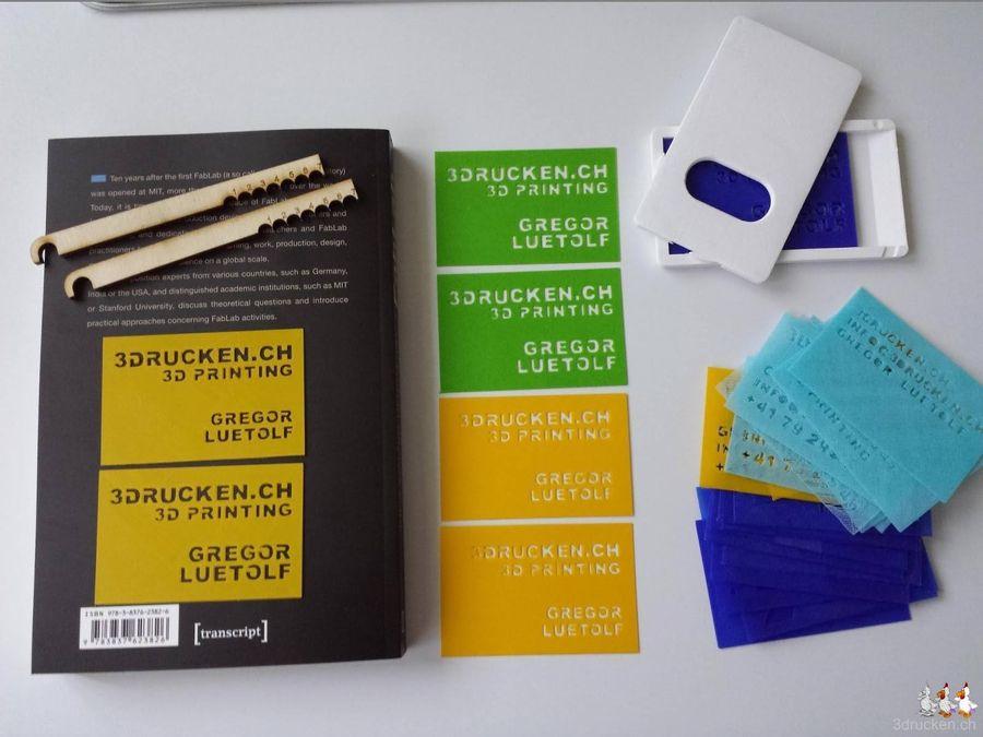 Visitenkarten 3d Drucken Aus Leidenschaft 3drucken