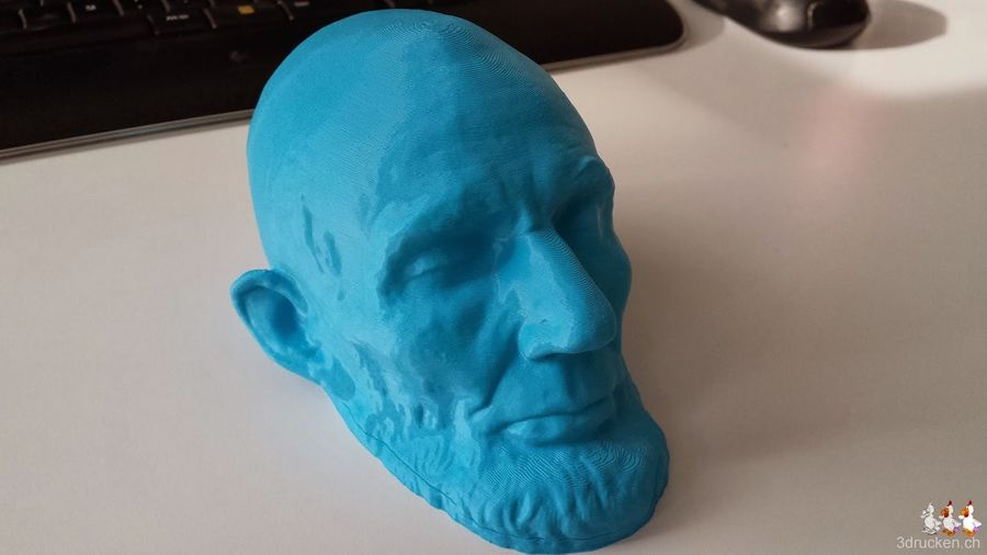 Lincoln Life Mask (Mills) Smithsonian X 3D
