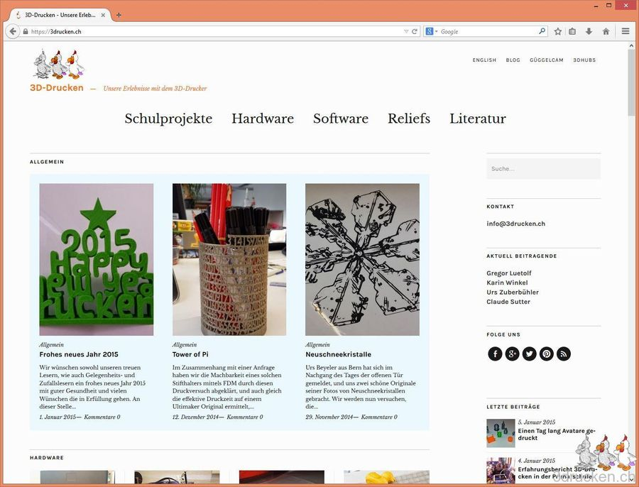 Von Blogger nach Wordpress