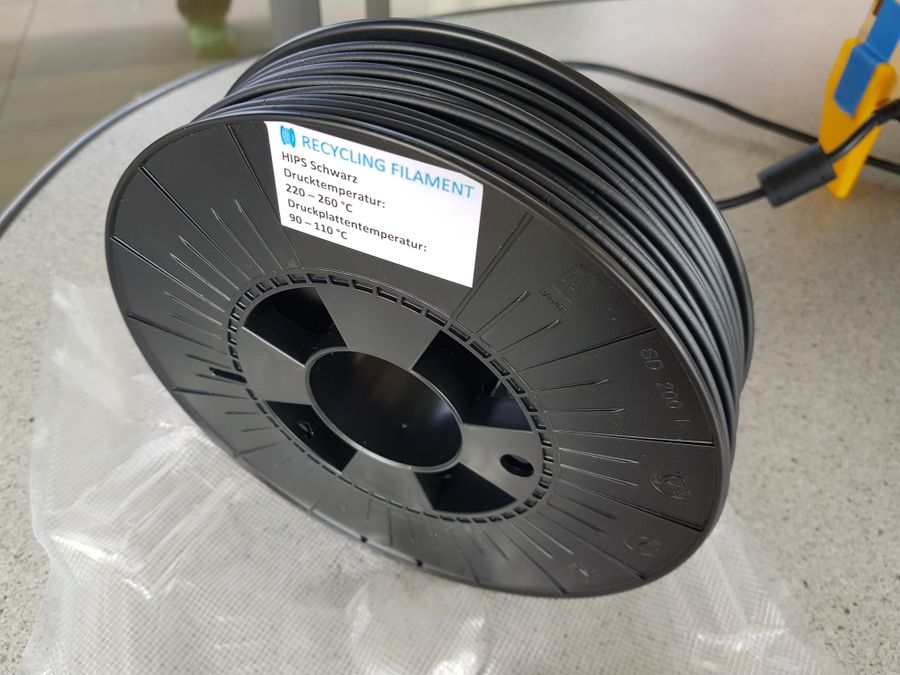 Recycling Filament aus Thun